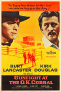 """Movie Posters:Western, Gunfight at the O.K. Corral (Paramount, 1957). Poster (40"""" X 60"""") Style Z.. ..."""