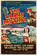 "Movie Posters:War, The Caine Mutiny (Columbia, 1954). Poster (40"" X 60"") Style Z.. ..."