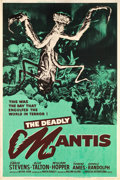 """Movie Posters:Science Fiction, The Deadly Mantis (Universal International, 1957). Poster (40"""" X60"""").. ..."""