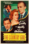 "Movie Posters:Drama, The Country Girl (Paramount, 1954). Poster (40"" X 60"") Style Y....."