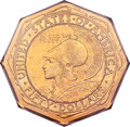 Commemorative Gold, 1915-S $50 Panama-Pacific 50 Dollar Octagonal MS61 PCGS....