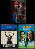 "Movie Posters:Academy Award Winners, Platoon & Others Lot (Charter Books, 1986). Hard Cover Books(4) (Multiple Pages, 5"" X 8"", 5.5"" X 8.5"", & 6.5"" X 9.5"") &Sof... (Total: 6 Items)"