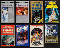 The Star Wars Trilogy Book Lot (Del Rey, 1976). Paperback Books (27) (Various Pages, Various Sizes), Hardcover Books (4)...