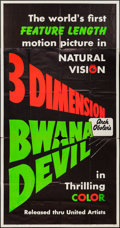 "Movie Posters:Adventure, Bwana Devil (United Artists, 1953). Three Sheet (41"" X 79"") 3-DStyle. Adventure.. ..."