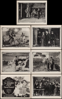 "The Spanish Jade (Paramount, 1922). Title Lobby Card & Lobby Cards (6) (11"" X 14""). Drama. ... (Total: 7 I..."