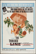 """Movie Posters:War, The Thin Red Line (Allied Artists, 1964). One Sheet (27"""" X 41""""),& Lobby Card Set of 8 (11"""" X 14""""). War.. ... (Total: 9 Items)"""