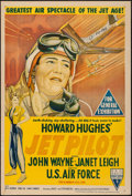 "Movie Posters:Drama, Jet Pilot (RKO, 1957). Australian One Sheet (27"" X 40""). Drama.. ..."