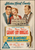 "Movie Posters:Comedy, Mr. Blandings Builds His Dream House (RKO, 1948). Australian OneSheet (28"" X 40""). Comedy.. ..."