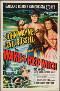 "Wake of the Red Witch (Republic, 1949). One Sheet (27"" X 41""). Adventure"