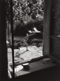 Photographs:20th Century, WILLY RONIS (French, 1910-2009). Vincent aéromodéliste,Gordes, 1949. Gelatin silver, 1985. 13-1/2 x 10 inches (34.3 x2...