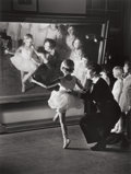 Photographs, ALFRED EISENSTAEDT (American, 1898-1995). First Lesson at Truempy Ballet School, Berlin, 1930. Gelatin silver. 16-1/4 x ...