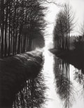 Photographs, BRETT WESTON (American, 1911-1993). Holland Canal, 1971. Gelatin silver. 19-1/4 x 15-1/4 inches (48.9 x 38.7 cm). Signed...