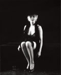 Photographs:20th Century, MILTON GREENE (American, 1922-1985). Marilyn Monroe, fromthe Black Sitting, 1956. Gelatin silver, 1978. 20 x 16inc...