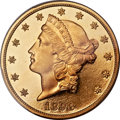 Proof Liberty Double Eagles, 1898 $20 PR64 Deep Cameo PCGS. CAC....