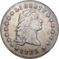Early Dollars, 1795 $1 Flowing Hair, Two Leaves VF35 PCGS. B-1, BB-21, R.2....