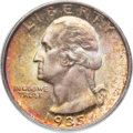 Washington Quarters, 1935-D 25C MS67 PCGS....