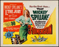 "Movie Posters:Film Noir, I, the Jury (United Artists, 1953). Half Sheet (22"" X 28"") 3-DStyle A. Film Noir.. ..."