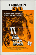 "Movie Posters:Science Fiction, It Came from Outer Space (Universal, R-1972). One Sheet (27"" X 41"")3-D Style. Science Fiction.. ..."