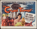 "Movie Posters:Adventure, The Cruel Tower (Allied Artists, 1956). Half Sheet (22"" X 28"")Style A. Adventure.. ..."