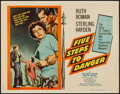 "Movie Posters:Adventure, Five Steps to Danger (United Artists, 1957). Half Sheet (22"" X28""). Adventure.. ..."