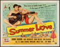 "Movie Posters:Rock and Roll, Summer Love (Universal International, 1958). Half Sheet (22"" X28""). Rock and Roll.. ..."
