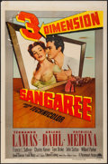 "Movie Posters:Adventure, Sangaree (Paramount, 1953). One Sheet (27"" X 41"") 3-D Style.Adventure.. ..."