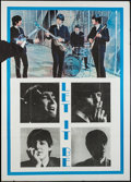 "Movie Posters:Rock and Roll, Let It Be (United Artists, R-1970s). Italian 2 - Foglio (39"" X55""). Rock and Roll.. ..."