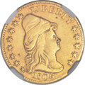Early Quarter Eagles, 1806/4 $2 1/2 8x5 Stars -- Mount Removed -- NGC Details. XF. BD-1,High R.4....