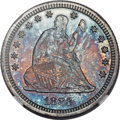 Proof Seated Quarters, 1883 25C PR67+ NGC. CAC....