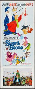 "Movie Posters:Animation, The Sword in the Stone (Buena Vista, 1963). Insert (14"" X 36""). Animation.. ..."
