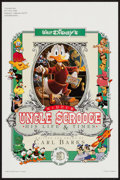 """Movie Posters:Animation, Walt Disney's Uncle Scrooge McDuck: His Life & Times (CelestialArts, 1987). Poster (12"""" X 18""""). Animation.. ..."""