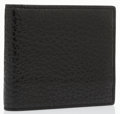 Luxury Accessories:Accessories, Bottega Veneta Black Leather Wallet . ...