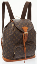 Luxury Accessories:Bags, Louis Vuitton Classic Monogram Canvas Montsouris GM Backpack Bag....