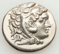 Ancients:Greek, Ancients: MACEDONIAN KINGDOM. Alexander III the Great (336-323 BC).AR tetradrachm (16.80 gm)....
