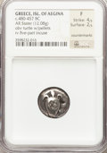 Ancients:Greek, Ancients: SARONIC ISLANDS. Aegina. Ca. 480-457 BC. AR stater (12.08gm)....