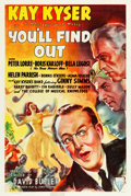 """Movie Posters:Comedy, You'll Find Out (RKO, 1940). One Sheet (27"""" X 41"""").. ..."""