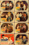 """Movie Posters:Drama, The Champ (MGM, 1931). Autographed Lobby Card Set of 8 (11"""" X 14"""").Drama.. ... (Total: 8 Items)"""