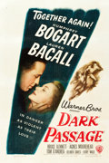 "Movie Posters:Film Noir, Dark Passage (Warner Brothers, 1947). One Sheet (27.25"" X 41"")....."