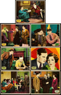 "Movie Posters:Romance, Young Man of Manhattan (Paramount, 1930). Lobby Cards (7) (11"" X14"").. ... (Total: 7 Items)"