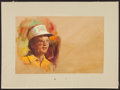 Golf Collectibles:Art, Circa 1970's and 1980's Golf Legends Original Artwork by VictorOlson (5). ...