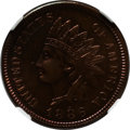 Proof Indian Cents: , 1886 1C Type One PR66 Brown NGC. NGC Census: (36/8). PCGS Population (18/8). Mintage: 4,290. Numismedia Wsl. Price for prob...