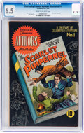 Golden Age (1938-1955):Classics Illustrated, Stories by Famous Authors Illustrated #1 The Scarlet Pimpernel(Seaboard Pub., 1950) CGC FN+ 6.5 Cream to off-white pages....