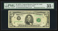Error Notes:Mismatched Serial Numbers, Fr. 1975-H $5 1977A Federal Reserve Note. PMG Choice Very Fine 35 EPQ.. ...