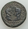 Ancients:Roman Provincial , Ancients: MOESIA INFERIOR. Odessus. Gordian III (AD 238-244) withTranquillina. Æ pentassarion (14.06 gm)....
