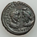 Ancients:Roman Provincial , Ancients: MOESIA INFERIOR. Marcianopolis. Philip II (AD 244-249). Æpentassarion (12.10 gm)....