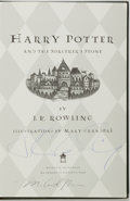 Books:Science Fiction & Fantasy, J.K. Rowling. SIGNED. Harry Potter and the Sorcerer's Stone.Arthur A. Levine, [2000]. Collector's edition. Signed...