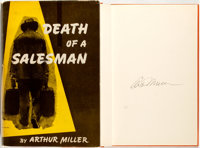 Arthur Miller. SIGNED. Death of a Salesman. New York: Viking Press, [1949]. First edition, firs