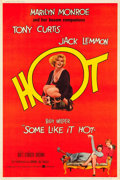 "Movie Posters:Comedy, Some Like It Hot (United Artists, 1959). Poster (40"" X 60"") StyleZ.. ..."