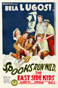 "Movie Posters:Comedy, Spooks Run Wild (Monogram, 1941). One Sheet (27"" X 41"").. ..."