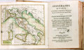 Books:Travels & Voyages, Itineraire D'Italie. Florence, 1801. Second edition.Includes several impressive folding maps, including a hand-colo...